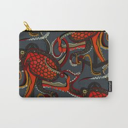 octopus ink gunmetal Carry-All Pouch