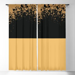 Pollock inspoired abstract art - Art, interior, drawing, decor, design, bauhaus, abstract, decoratio Blackout Curtain