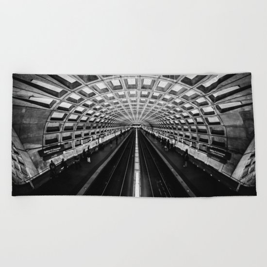 The Underground Beach Towel