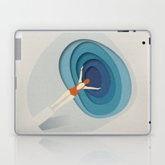 Dive Into Blue Laptop & iPad Skin