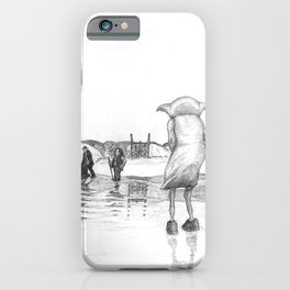 """Death of a Free Elf"" - Dobby in Deathly Hallows iPhone Case"