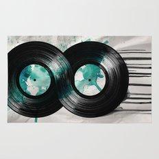 infinity vinyl Rug