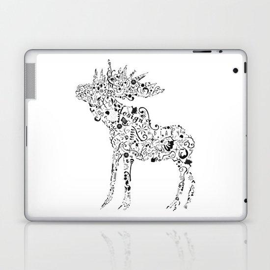 Many shapes of the Moose Laptop & iPad Skin