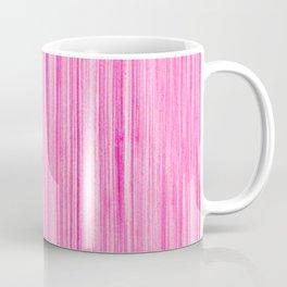 Luscious Lollypop Pink Striped Candy Design Coffee Mug
