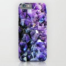 Amethyst Geode Slim Case iPhone 6