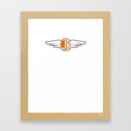 Got me Wings Framed Art Print