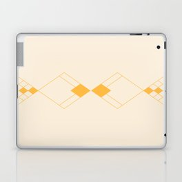 Minimal Geometry - Golden Laptop & iPad Skin