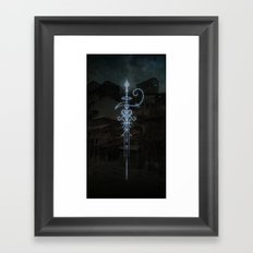 Sigil to Invoke the Magic of Liminal Spaces Framed Art Print