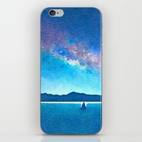northern lights iPhone & iPod Skins featuring Northern Lights by Acacia Alaska