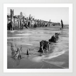 Walberswick Beach Art Print