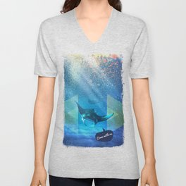 Come with us Unisex V-Neck