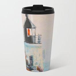 Castle Hill Lighthouse Newport Rhode Island RI Travel Mug