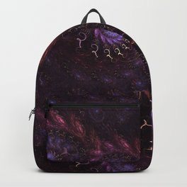 Celebration Flame Fractal Backpack