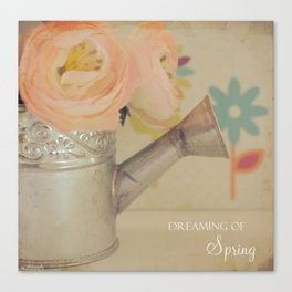 {Dreaming of Spring} Canvas Print