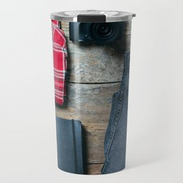 Get ready for the trip. Man edition Travel Mug