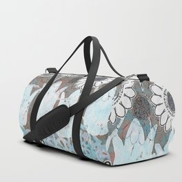Florals in Neutral Duffle Bag