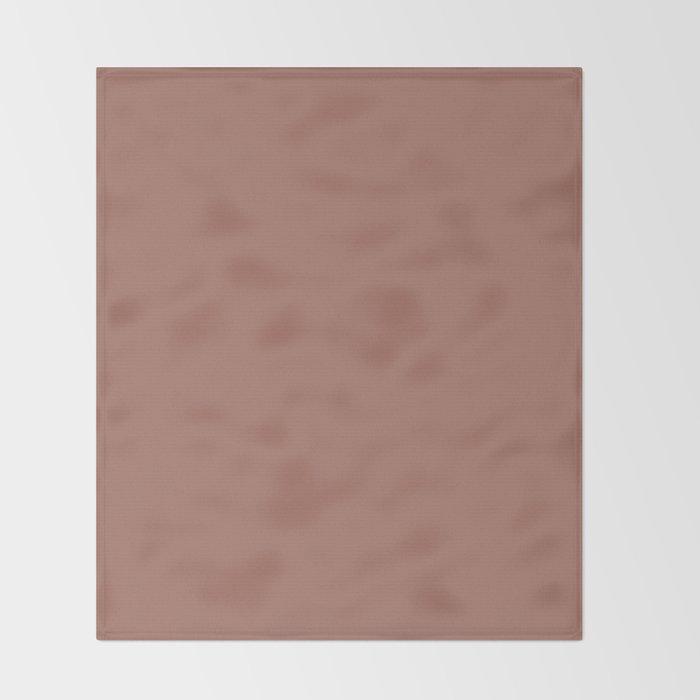 Blast-Off Bronze - solid color Throw Blanket