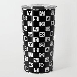 Kingdom Hearts Grid Travel Mug