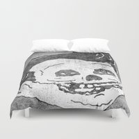 misfits Duvet Covers featuring FAT FIEND CLUB by UNDEAD MISTER / MRCLV