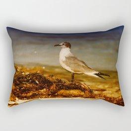 Seagull At The Keys Rectangular Pillow