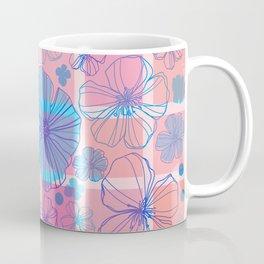 Drawing flowers in cubes Coffee Mug