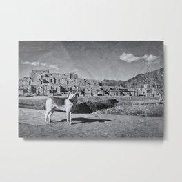 Taos Metal Print