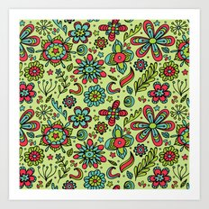 Flower Power. Art Print