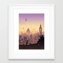 Wind's In The East... Framed Art Print