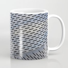 Metal shapes with line notches texture Coffee Mug