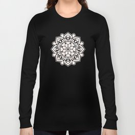 White marble Long Sleeve T-shirt