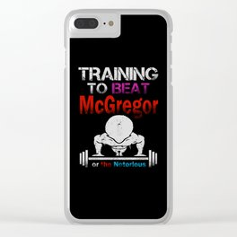 Training to beat the notorious Clear iPhone Case