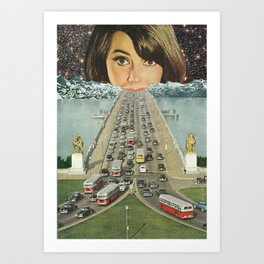 Traffic School Art Print