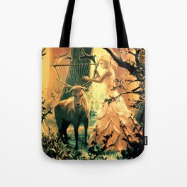 Feral Strings Tote Bag