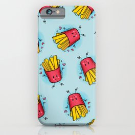 Cloudy Fries iPhone Case