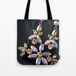 Diamond Flowers Tote Bag