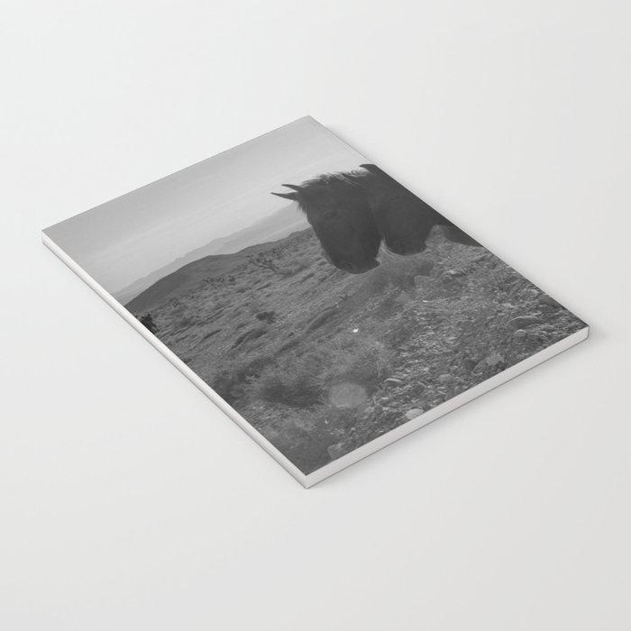 Desert Horses Notebook