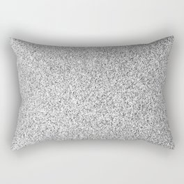 Beautiful Silver glitter sparkles Rectangular Pillow