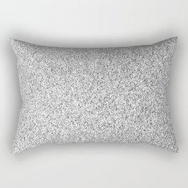Beautiful Silver glitter sparkles Rectangular Pillow