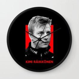 Formula One - Kimi Raikkonen Wall Clock
