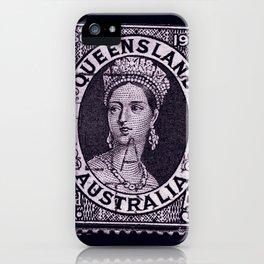 Queensland Stamp iPhone Case