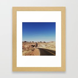 Road to the Valley of Fire Framed Art Print