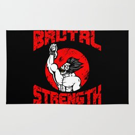 BRUTAL STRENGTH II Rug