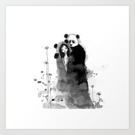 Lonely, Lonely... Art Print