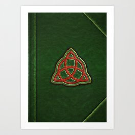 Book of Shadows Cover Art Print
