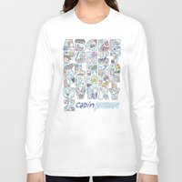 cabin pressure Long Sleeve T-shirts featuring Cabin Pressure - From A to Z by enerjax