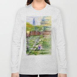 Slipping Away: Even Giants Fall Long Sleeve T-shirt