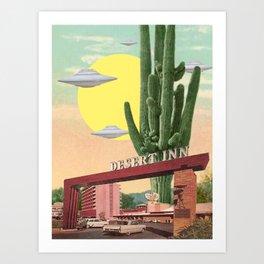 Desert Inn Art Print