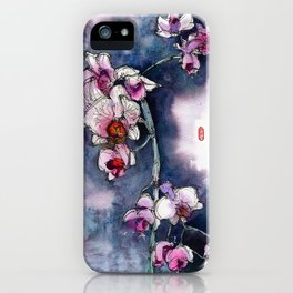 20130330 Orchid Fenny Jakarta iPhone Case