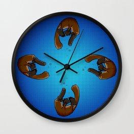 Playful Platypus Wall Clock