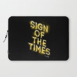 Sign Of The Times Laptop Sleeve